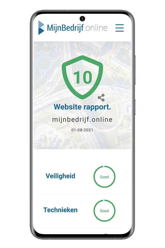 Website check voor veiligheid, snelheid en nieuwe technieken