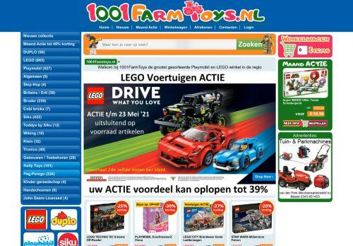Screenshot van 1001farmtoys.nl