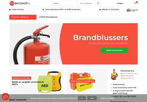 Screenshot van 101bhvshop.nl