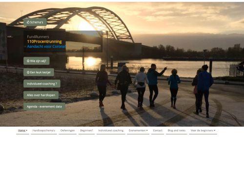 Screenshot van 110procentrunning.nl