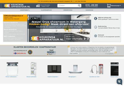 Screenshot van 123apparatuur.nl