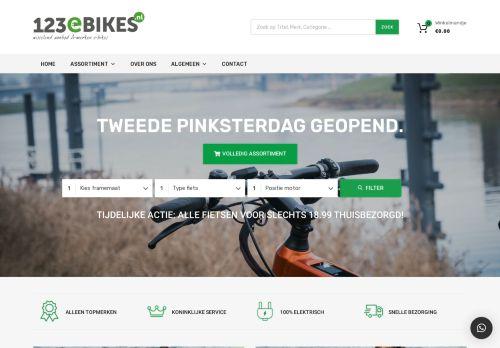 Screenshot van 123ebikes.nl