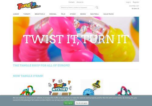 Screenshot van 123fidget.nl