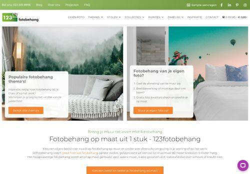 Screenshot van 123fotobehang.nl