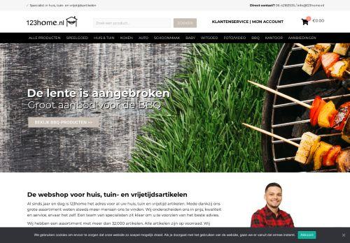 Screenshot van 123home.nl