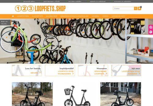 Screenshot van 123loopfiets.shop
