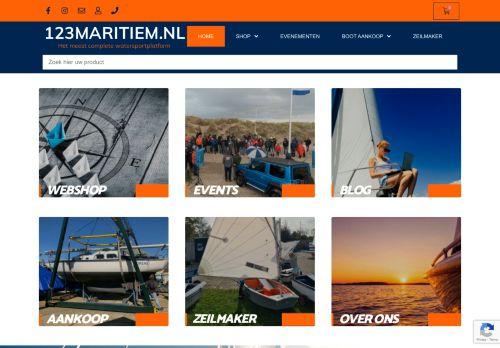 Screenshot van 123maritiem.nl
