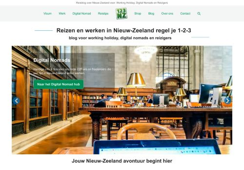 Screenshot van 123nz.nl