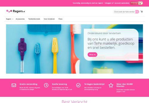 Screenshot van 123ragers.nl