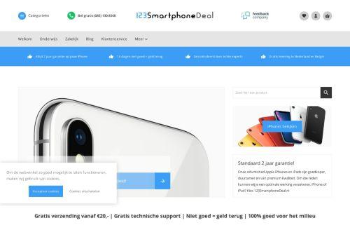 Screenshot van 123smartphonedeal.nl