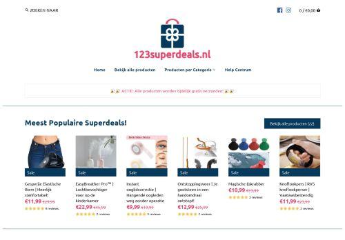 Screenshot van 123superdeals.nl