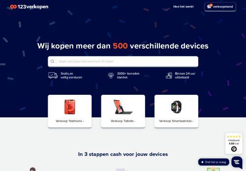 Screenshot van 123verkopen.nl