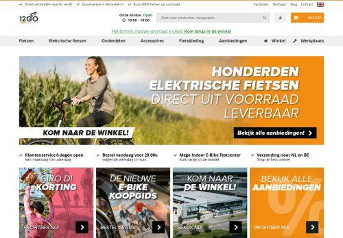 Screenshot van 12gobiking.nl