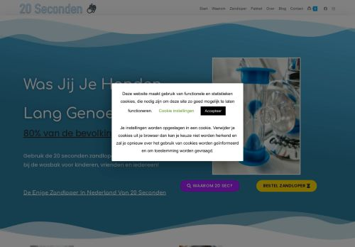 Screenshot van 20secondenhandenwassen.nl