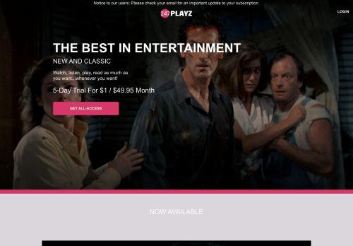 Screenshot van 247playz.com