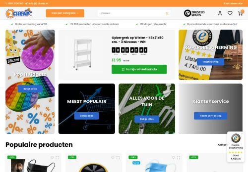 Screenshot van 2cheap.nl