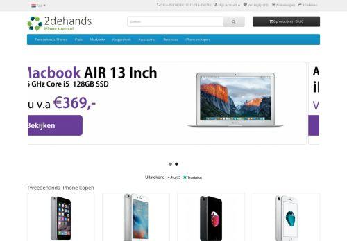 Screenshot van 2dehands-iphone-kopen.nl