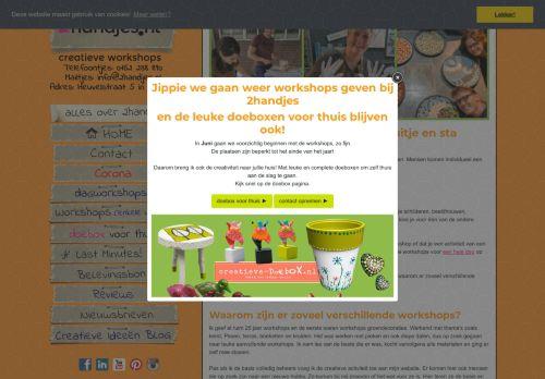 Screenshot van 2handjes.nl