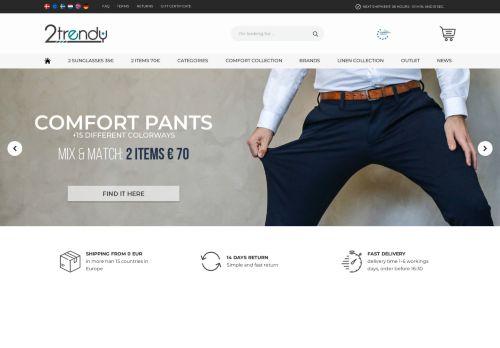 Screenshot van 2trendy.com