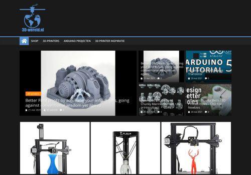 Screenshot van 3d-wereld.nl