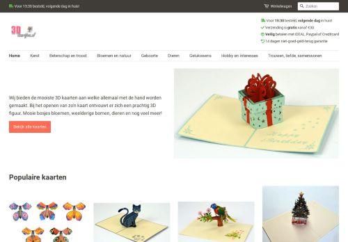 Screenshot van 3dkaartjes.nl