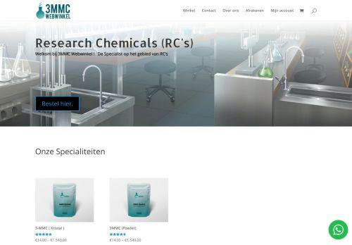 Screenshot van 3mmc-webwinkel.nl