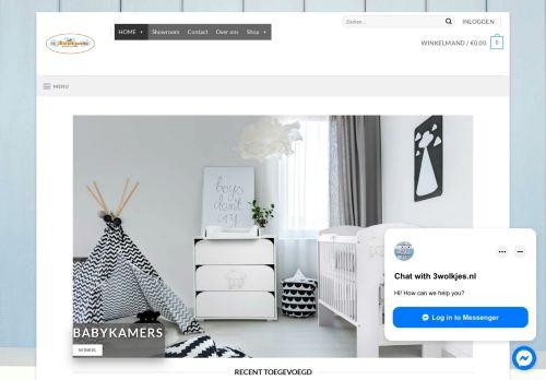 Screenshot van 3wolkjes.nl