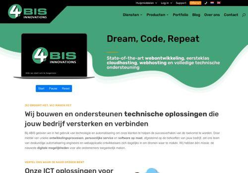 Screenshot van 4bis.nl