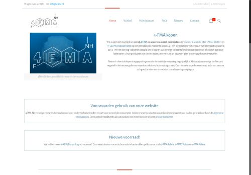Screenshot van 4fma.nl