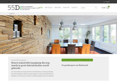 Screenshot van 55d.nl