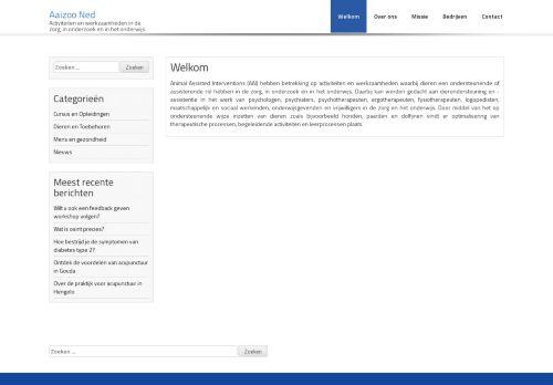 Screenshot van aaizoo-ned.nl