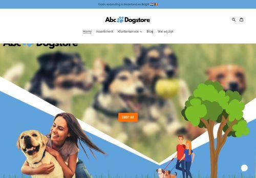 Screenshot van abcdogstore.com