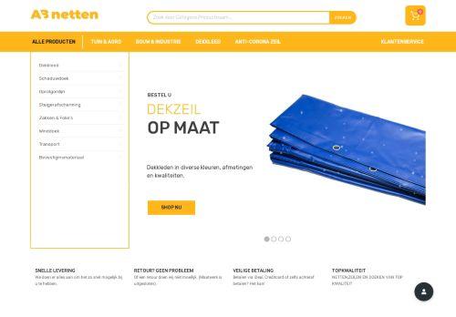 Screenshot van abnetten.nl