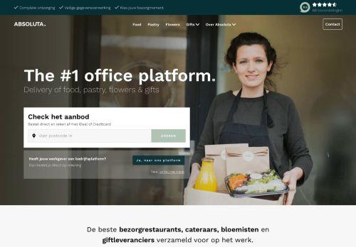 Screenshot van absoluta.nl
