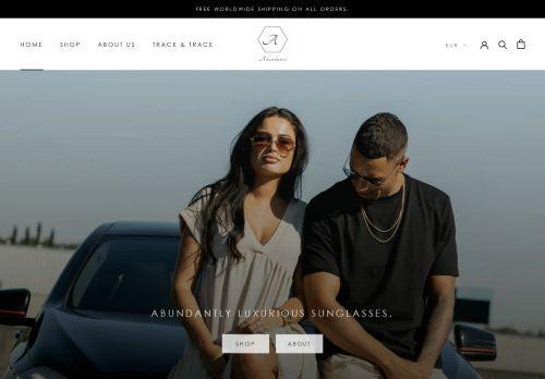 Screenshot van abundance-apparel.com