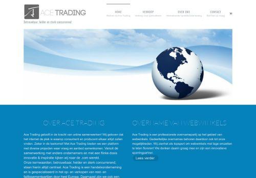 Screenshot van acetrading.nl