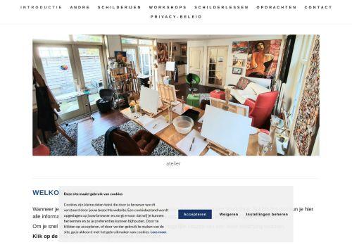 Screenshot van acoart.nl