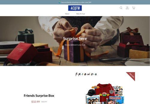 Screenshot van acqtw.com