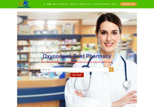 Screenshot van acquistaossicodone.com