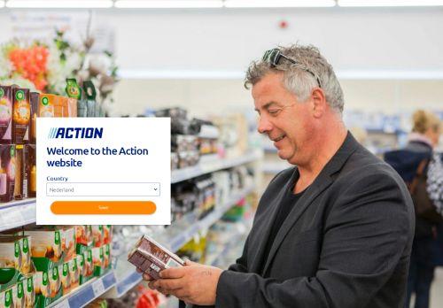 Screenshot van action.com