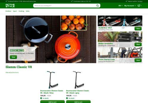 Screenshot van activestyle.nl