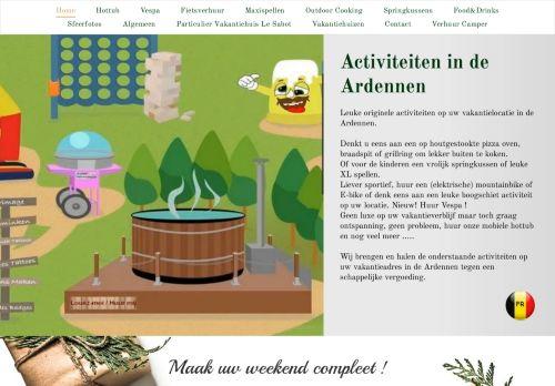 Screenshot van activiteitenindeardennen.nl
