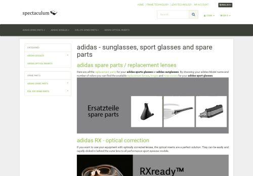 Screenshot van ad-sportbrillen.com