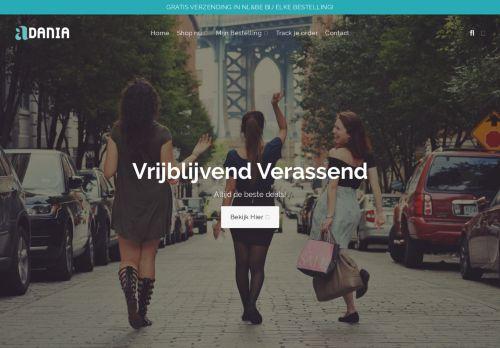 Screenshot van adania.nl