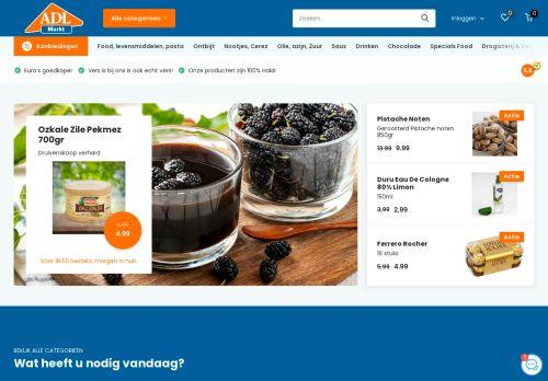 Screenshot van adlmarkt.nl