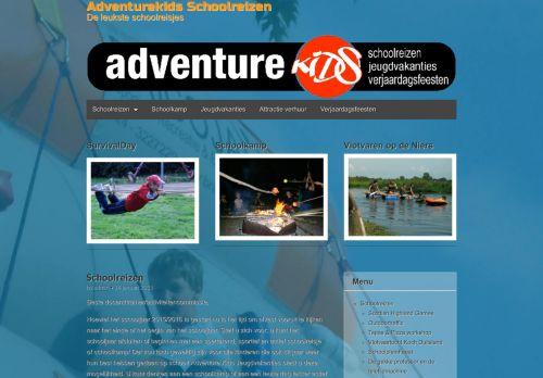 Screenshot van adventurekids.nl