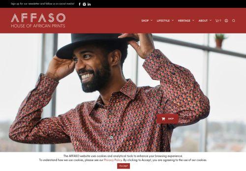 Screenshot van affaso.com
