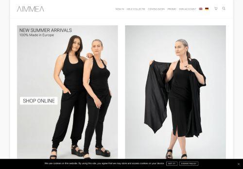 Screenshot van aimmea.com