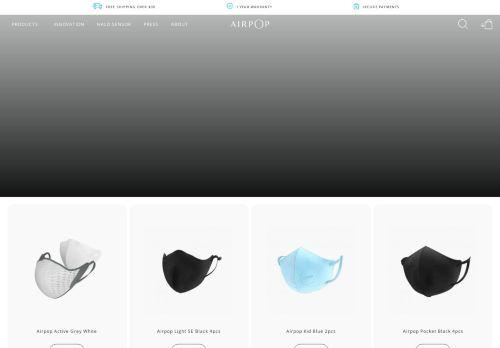 Screenshot van airpophealth.com
