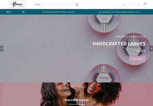 Screenshot van alainaeyes.com